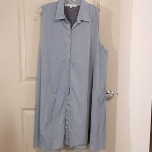 RACHEL Rachel Roy shift dress bluegray